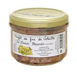 Confit de foie de volaille-100 g