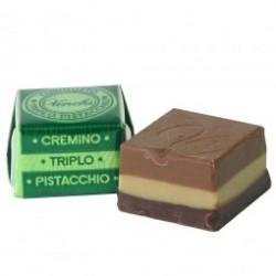 CUBE CHOCOLAT BLANC NOIR NOUGAT TRIPLE - 10 grs