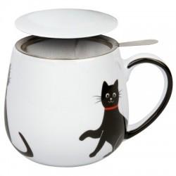 MUG-SNUGGLE LOVELY CAT - KONITZ