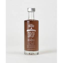 SIROP LOVE AROMATISE ROSE FRAMBOISE LITCHI GINGEMBRE-25CL