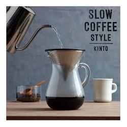 CARAFE A CAFE ET FILTRE INOX - KINTO