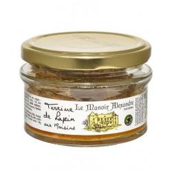 Terrine de lapin aux raisins-100 g