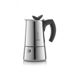 CAFETIERE ITALIENNE INOX MUSA induction-4T