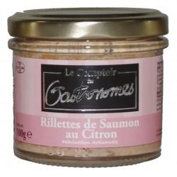 Rillettes de saumon au citron-100 g