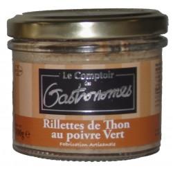 Rillettes de thon au poivre vert-100 g