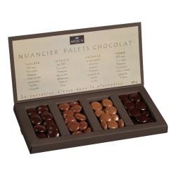 NUANCIER PALETS CHOCOLAT PURE ORIGINE