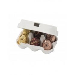 OEUFS CHOCOLAT LAIT-boite 6 mini oeufs-78grs