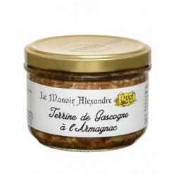 Terrine de Gascogne à l'armagnac -180 g