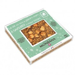 TABLETTE LAIT NOISETTES BISCUITS A LA CANNELLE-PLAISIRS-85grs