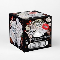 TISANE DE LA PARISIENNE - BOITE METAL 24 SACHETS