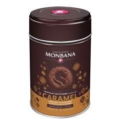 CHOCOLAT EN POUDRE AROME CARAMEL-BOITE 250GR