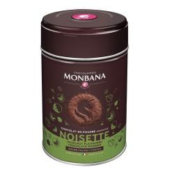 CHOCOLAT EN POUDRE AROME NOISETTE-BOITE 250GR