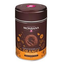 CHOCOLAT EN POUDRE AROME ORANGE-BOITE 250GR