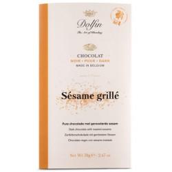 Sésame Grillé-tablette noir 60%-70g
