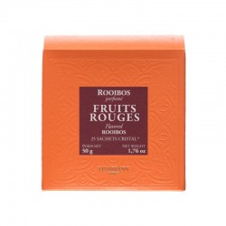 ROOIBOS FRUITS ROUGES-20 SACHETS CRISTAL