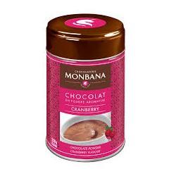 CHOCOLAT EN POUDRE AROME CRAMBERRY-BOITE 250GR