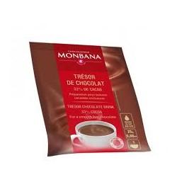 CHOCOLAT EN POUDRE TRESOR DE CHOCOLAT 33%-DOSETTE 25GR